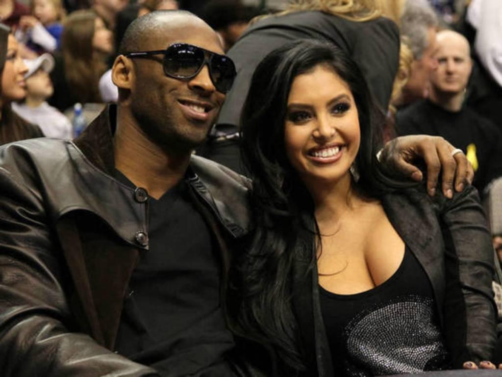 Kobe Bryant y su esposa Vanessa.