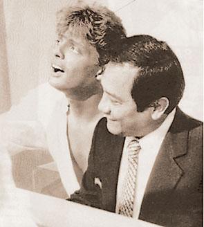 Manzanero y Luis Migue