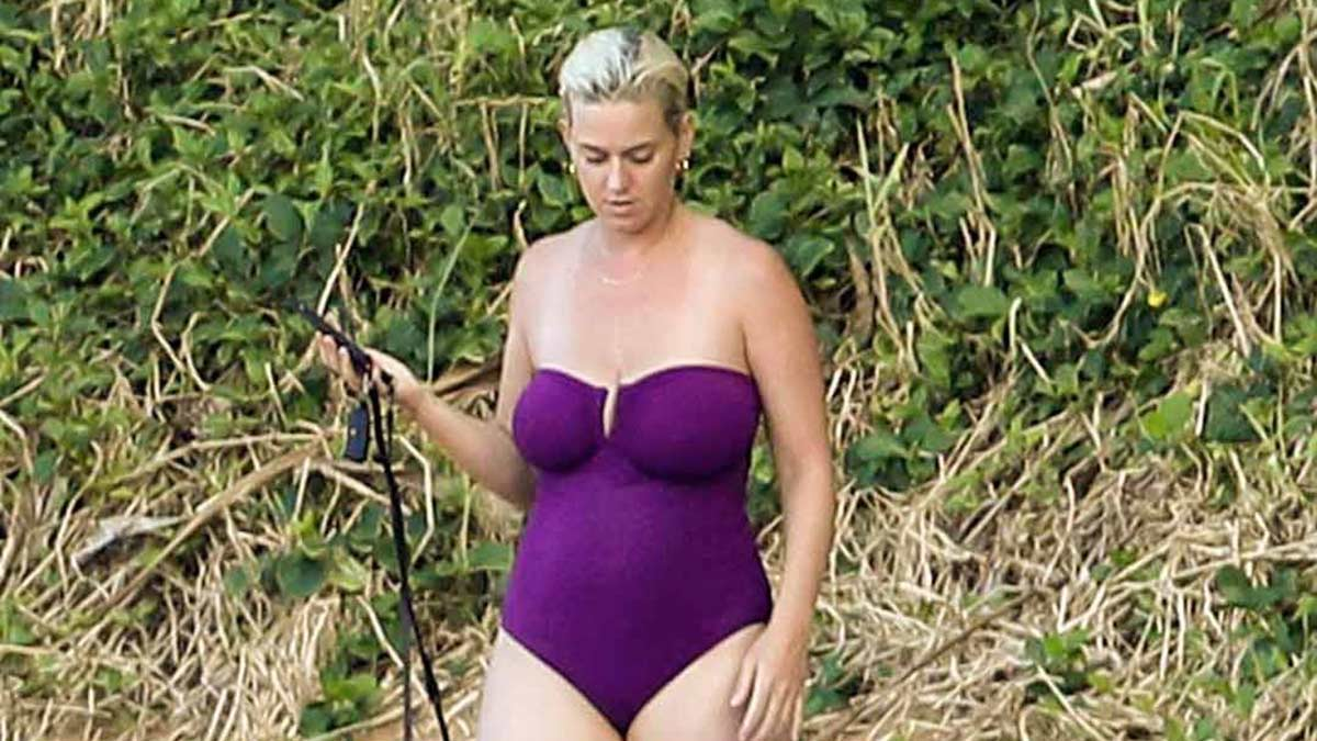 Katy Perry de vacaciones en Hawai