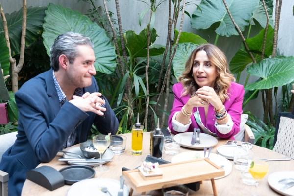 Victor Uribe, Luisa Serna