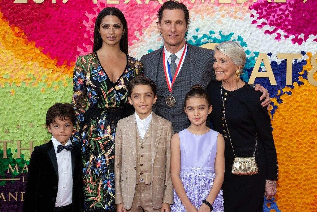 Matthew-McConaughey-familia