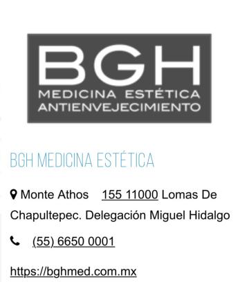 BGH Medicina Estetica, clínica de belleza.