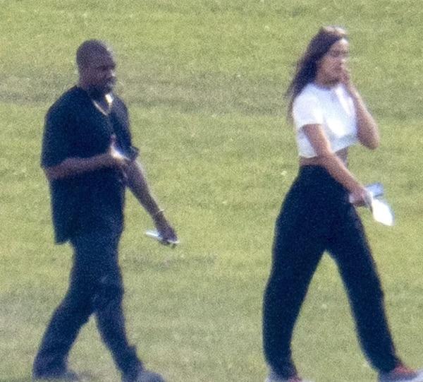 Kanye West con Irina Shayk