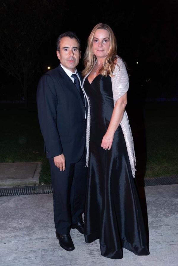 Graduación Colegio del Bosque: Patricio Serna y Begoña Serna