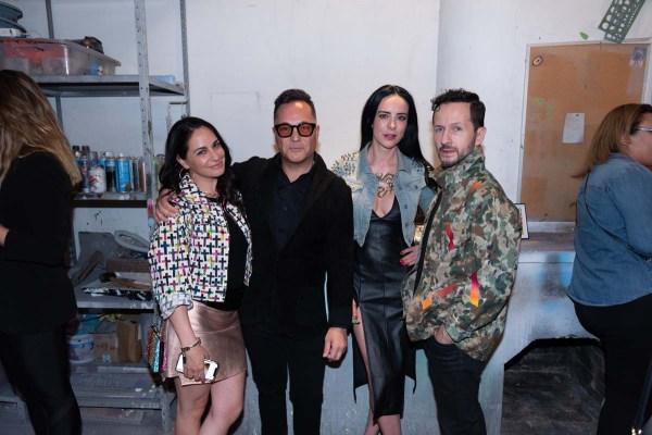 Paulina Madrazo, Héctor Bitar, Ariana Grand, Óscar Madrazo