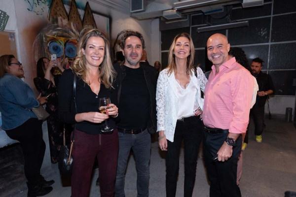 Gabriela Gómez, Frank Montaño, Laura Álvarez, Juan Antonio Pérez simón