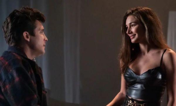 Luis Miguel y Jessy en la serie