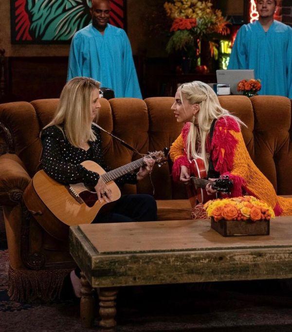 Lisa Kudrow y Lady Gaga