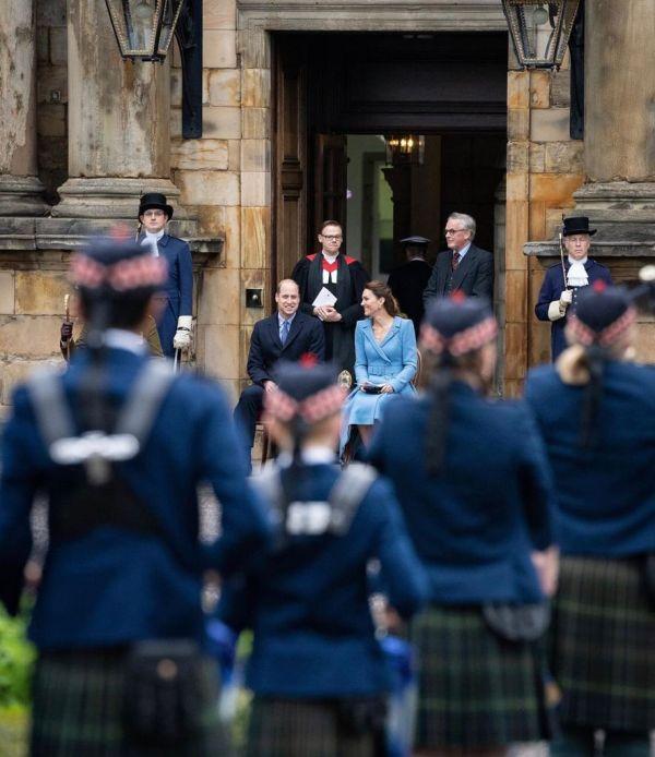 William y Kate en Escocia