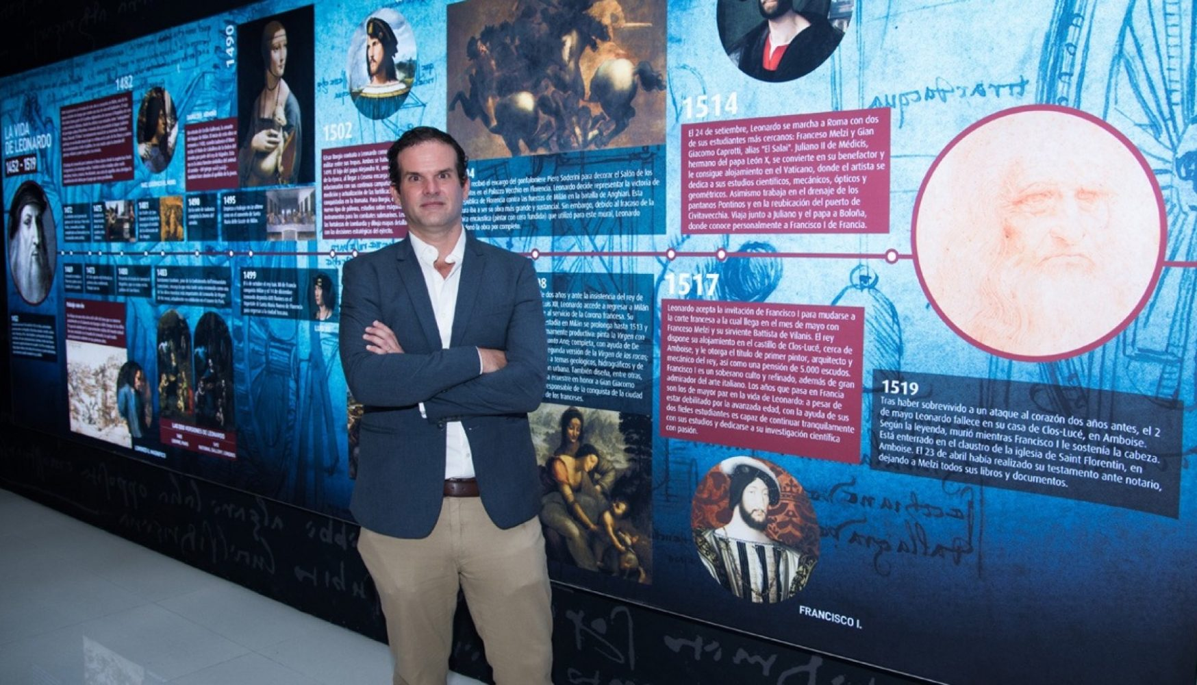 Filippo Pandolfini en Da Vinci Experience