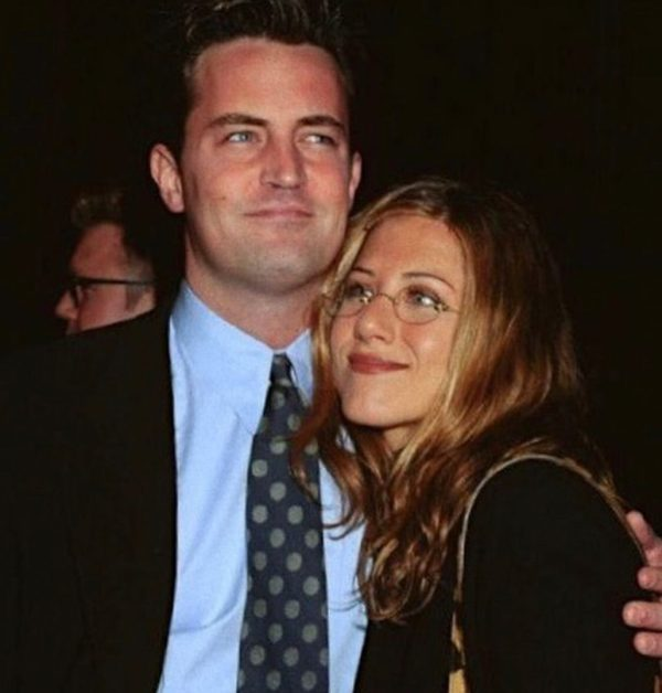 Jennifer Aniston y Matthew Perry
