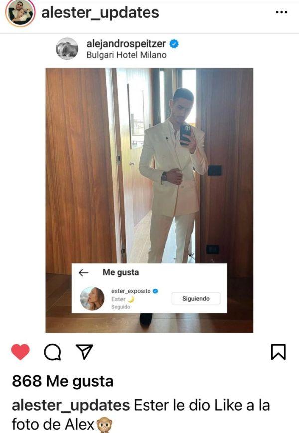 Alejandro Speitzer en Instagram