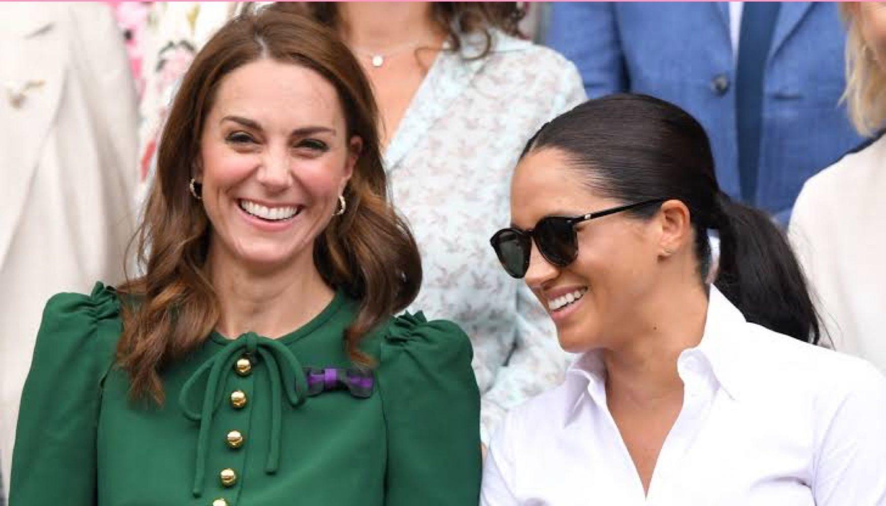Las duquesas Kate Middleton y Meghan Markle