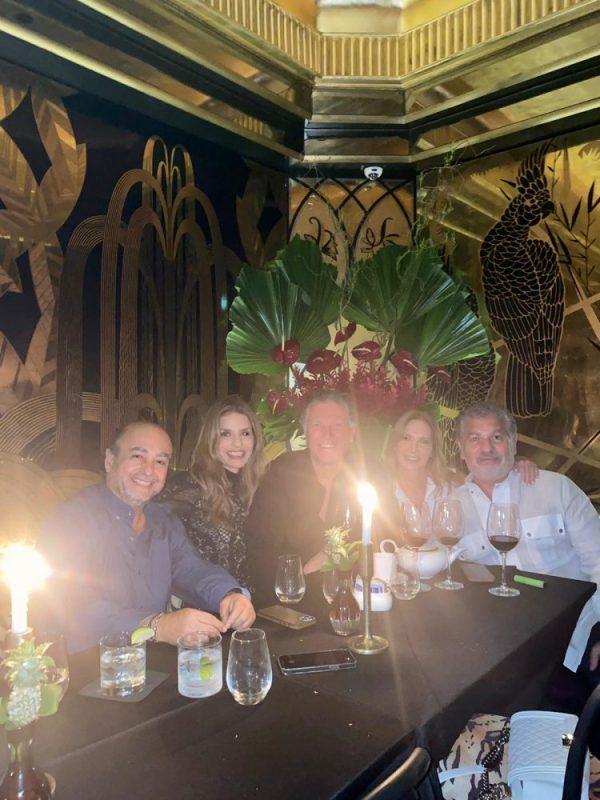 Cenando en el hotel Faena