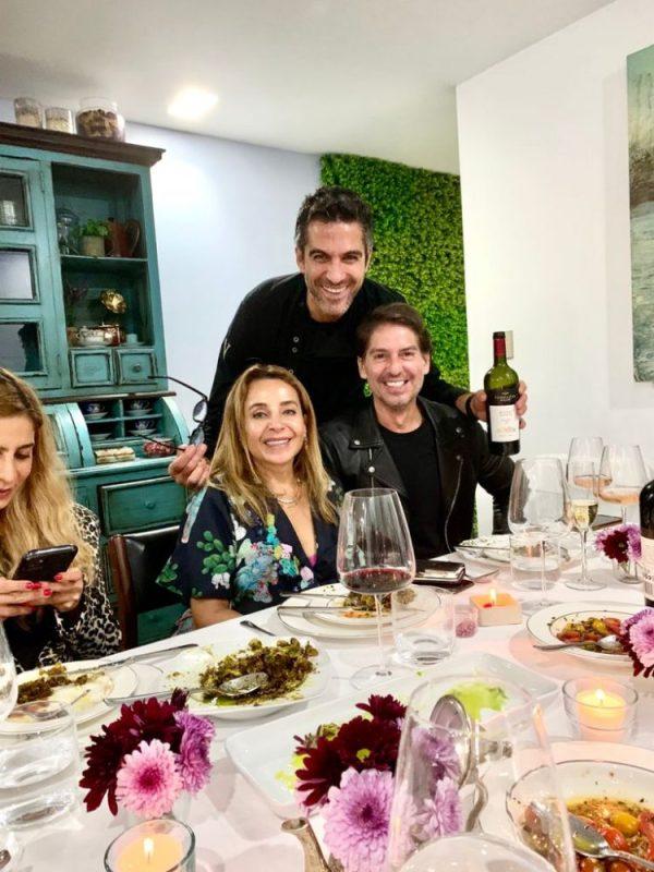 Luisa Serna, Abe Marcondes y Vladio Chiappetta