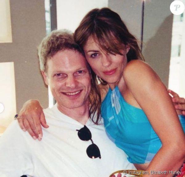 Steve Bing y Elizabeth Hurley