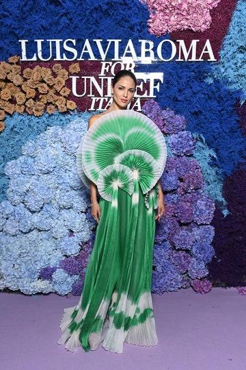El dramático vestido que Eiza González usó para la gala benéfica de la UNICEF