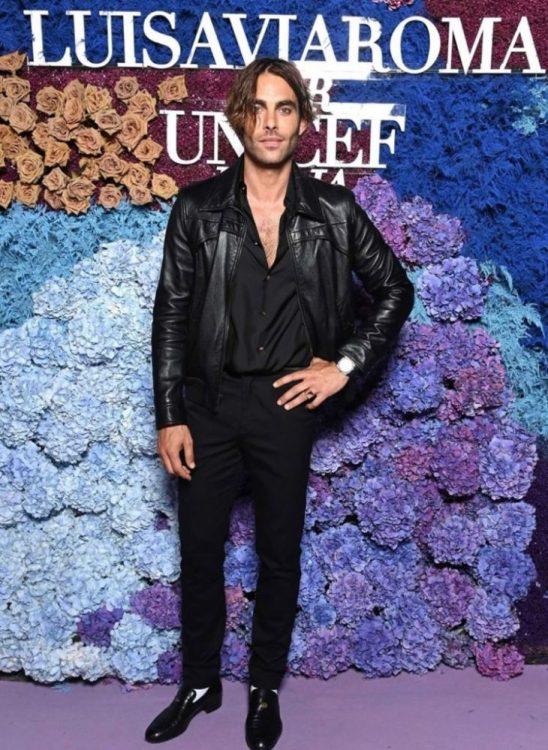 Jon Kortajarena en la gala Luisa Vía Roma x Unicef