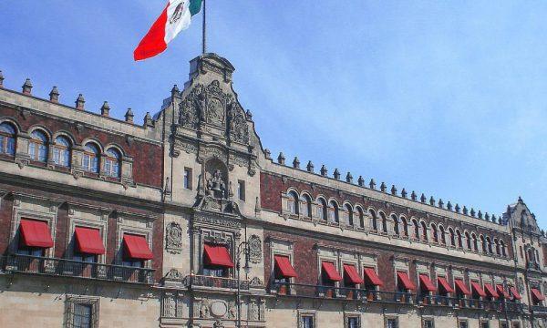 Palacio Nacional, en la Ciudad de México.