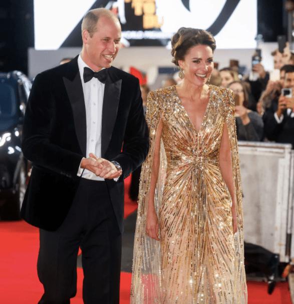 Kate Middleton y el príncipe William súper elegantes