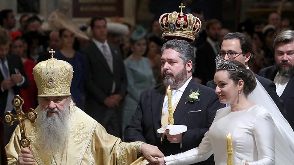 Boda real Jorge Romanov y Rebecca Bettarini