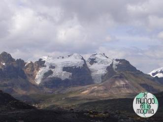 Glaciares en la Cordiilera Blanca en 2007