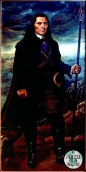 Cuadro en el que se representa a Tupac Amaru II