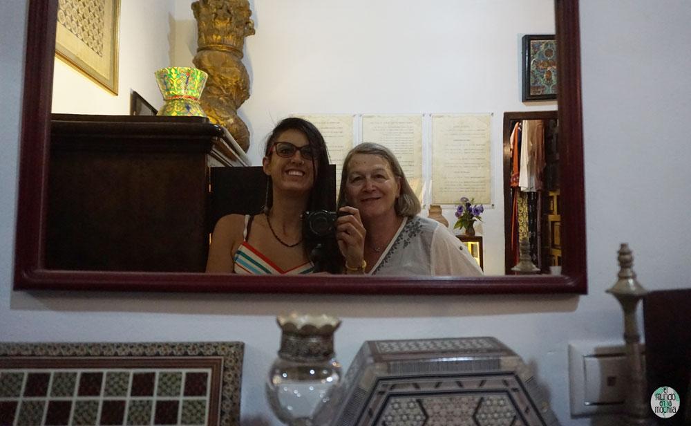 Selfie en la Casa Al-Andalusí