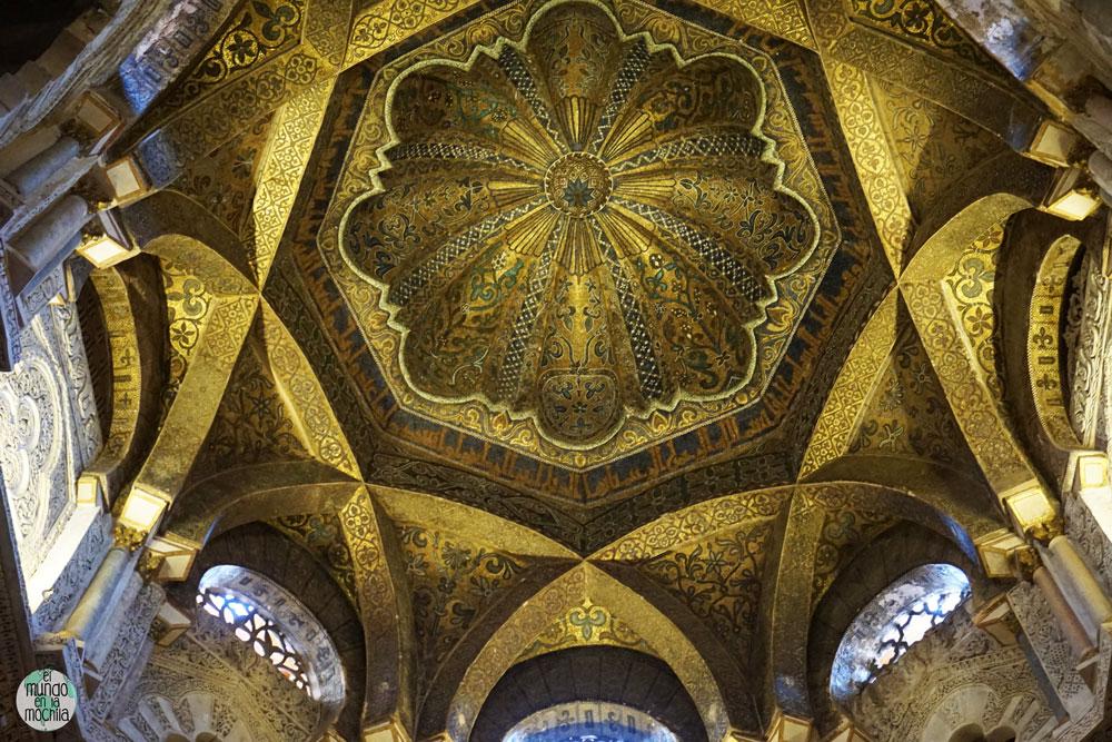 Cúpula de la Macsura de la Mezquita-Catedral de Córdoba