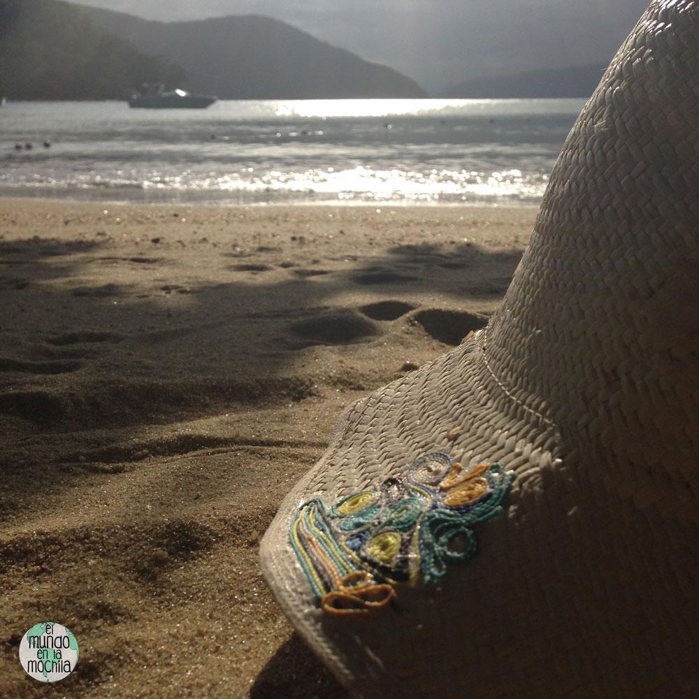 playa praia abraaozinho atardecer sombrero