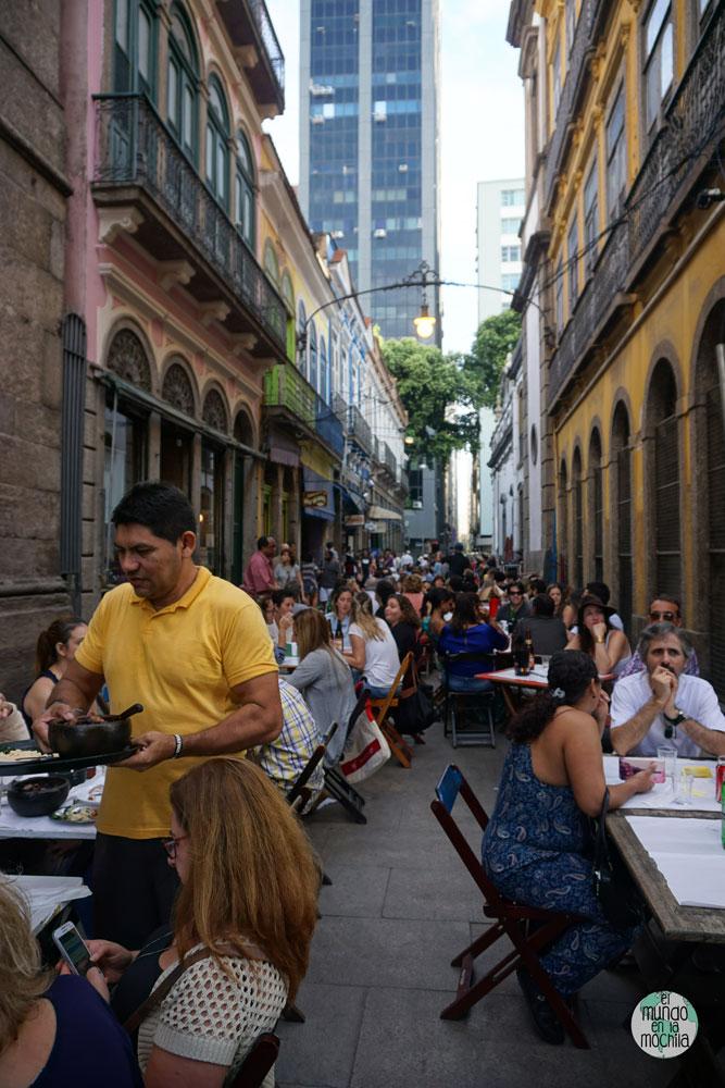 Restaurantes de la zona del centro histórico de Rio