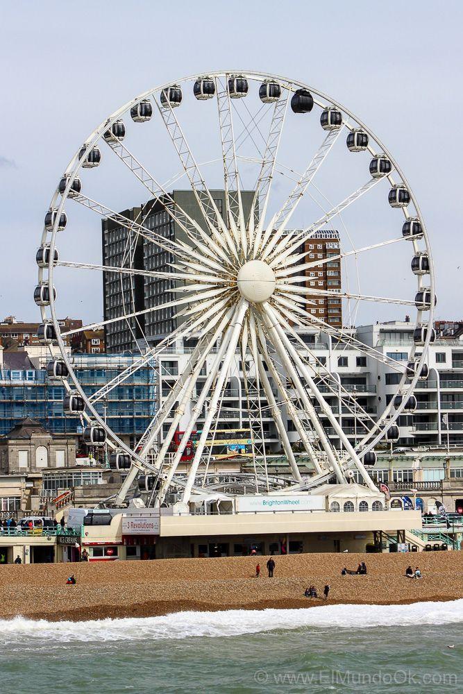 La Noria, una de las cosas que puedes hacer en Brighton.