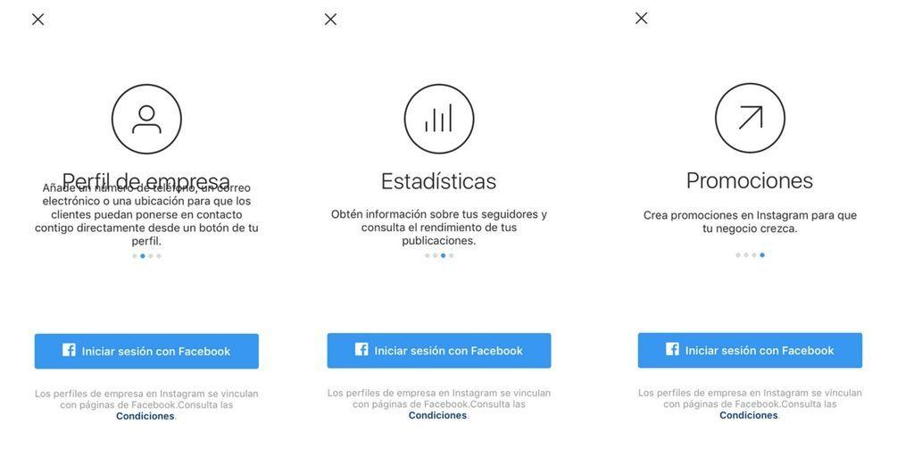 Funciones Instagram for Business