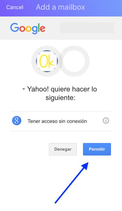 Paso4-Gmail en Yahoo Mail