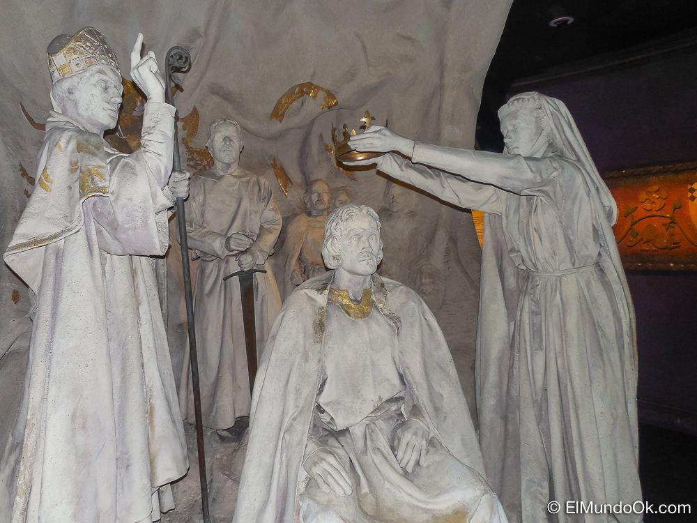 Coronacion de Reyes en el Castillo de Edimburgo.