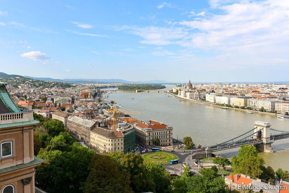 Vista de Budapest desde el Castillo de Buda.