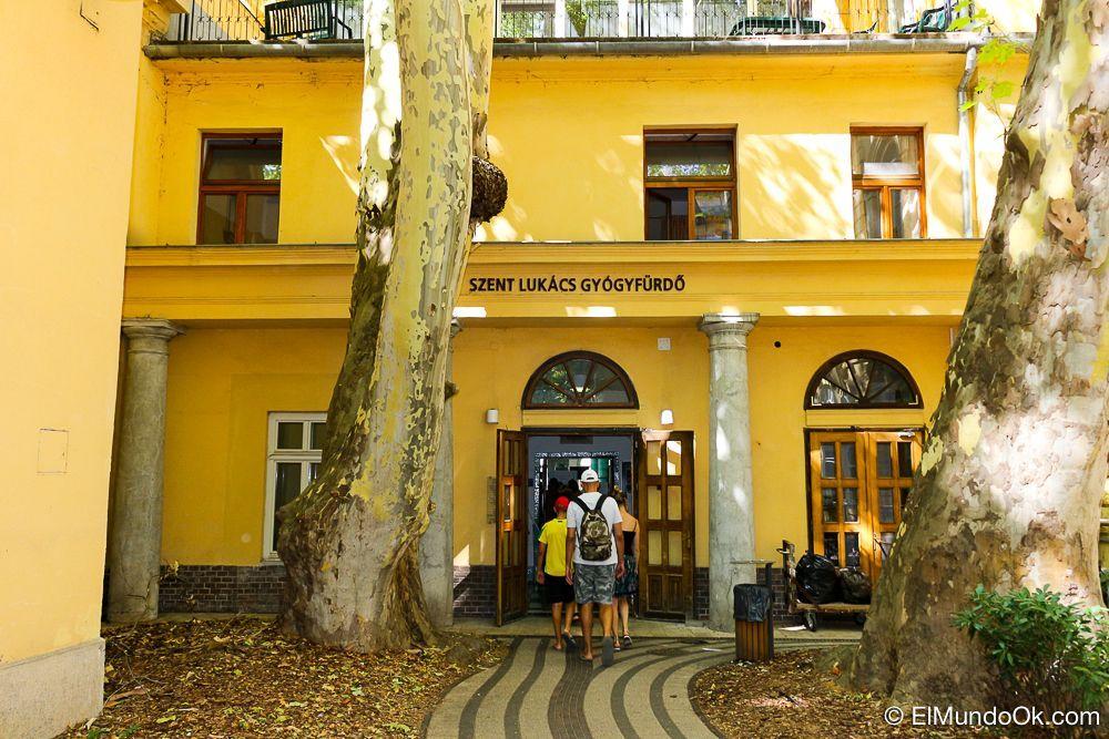 Szent Lukács Baths en Budapest.