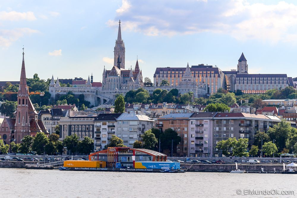 Vista de Buda desde Pest.