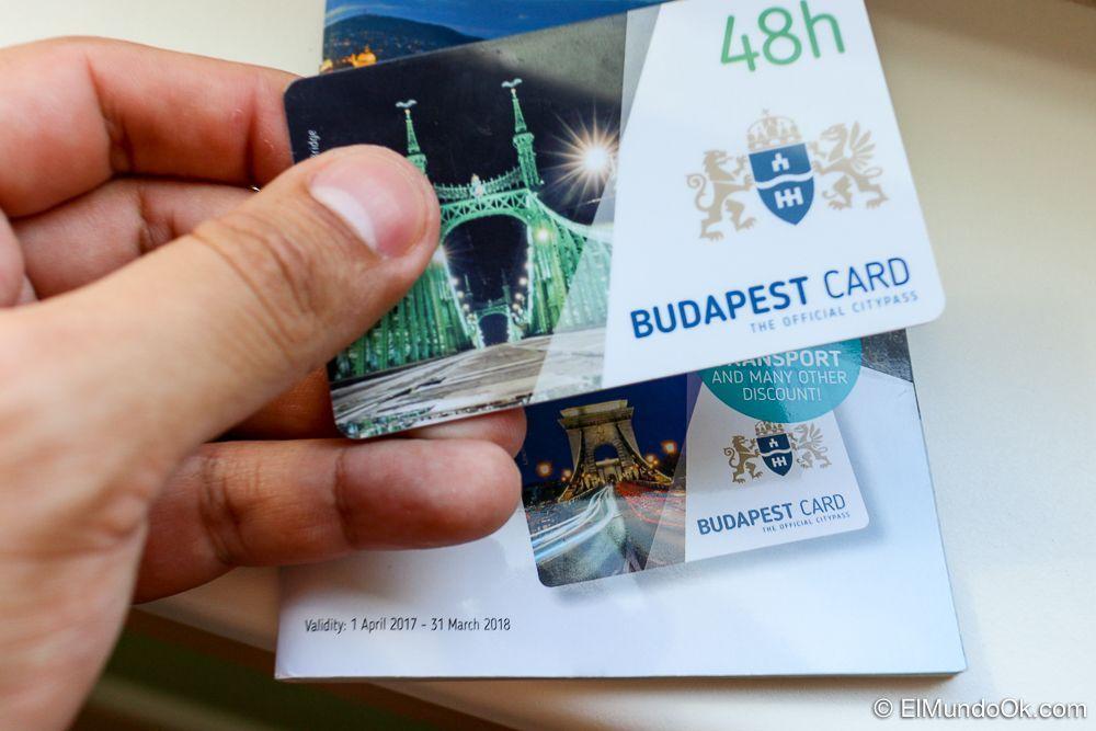 Budapest Card de 48 horas.