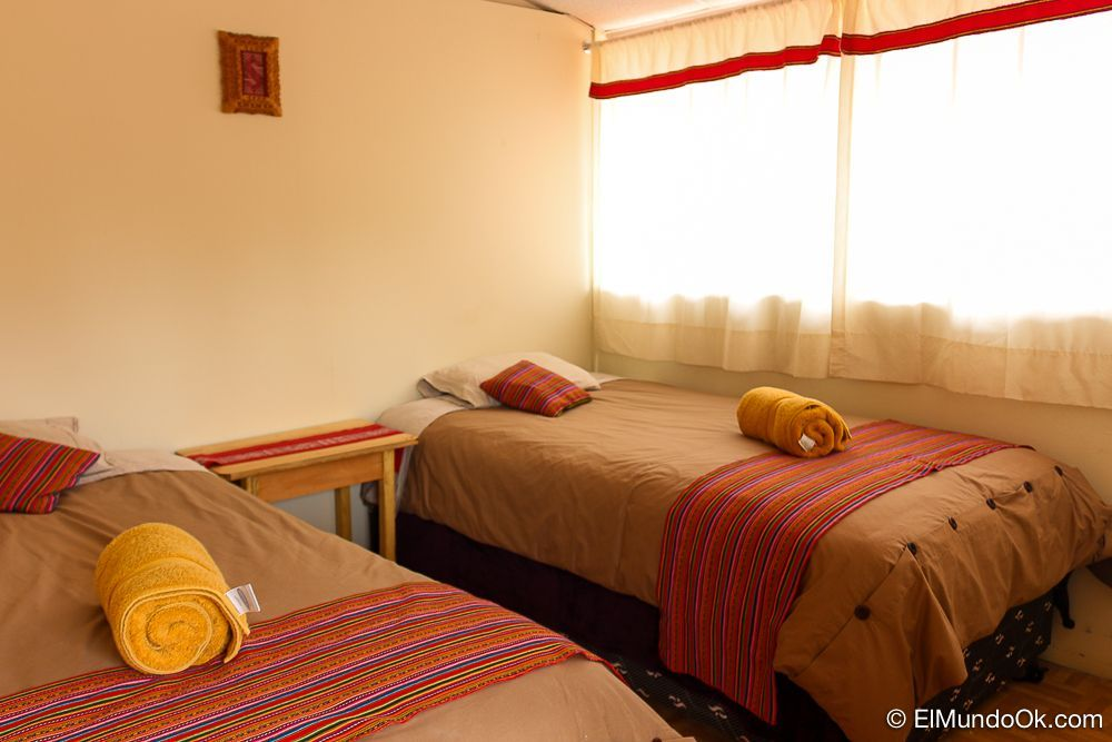 Habitación doble en el Magic Cusco Hostel. Cusco, Perú.