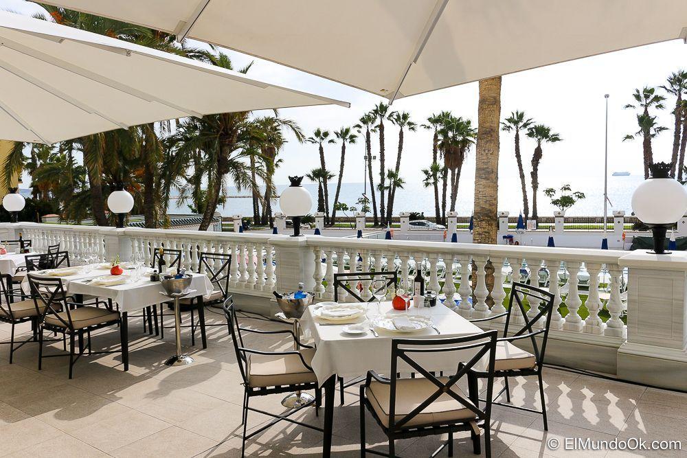 La Terraza Real en el Gran Hotel Miramar.