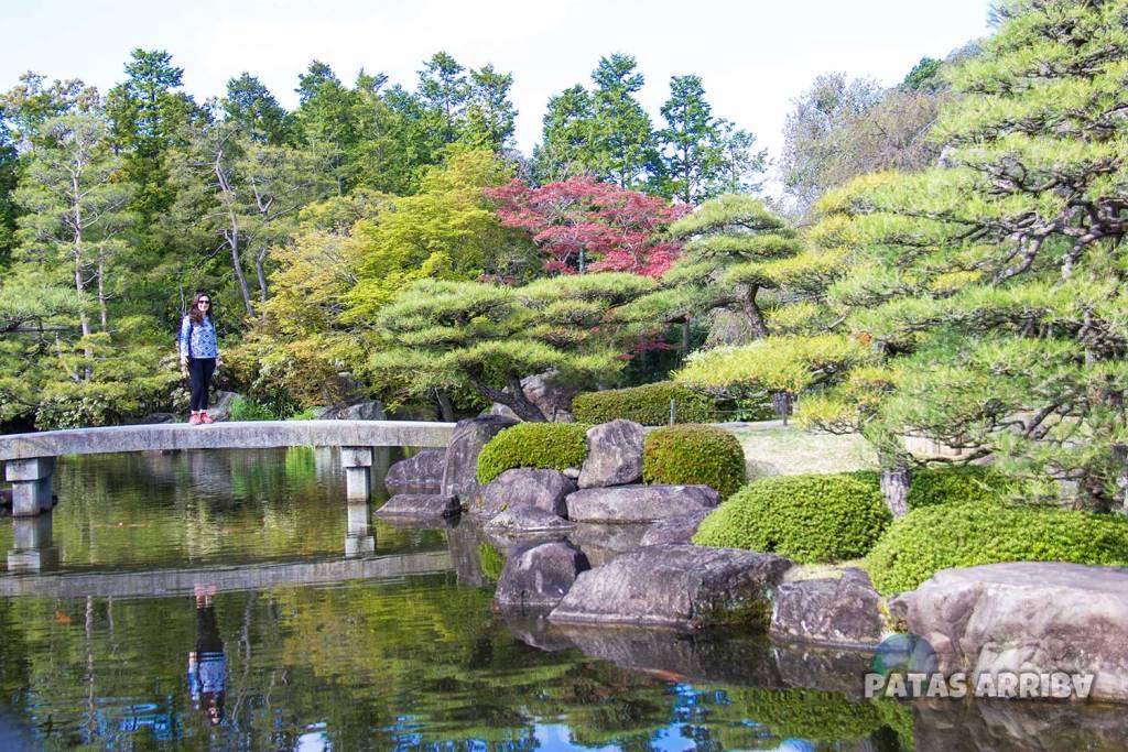 Jardín Koko-en en Himeji