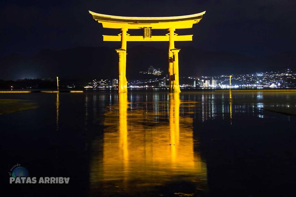 El gran torii de Mijayima