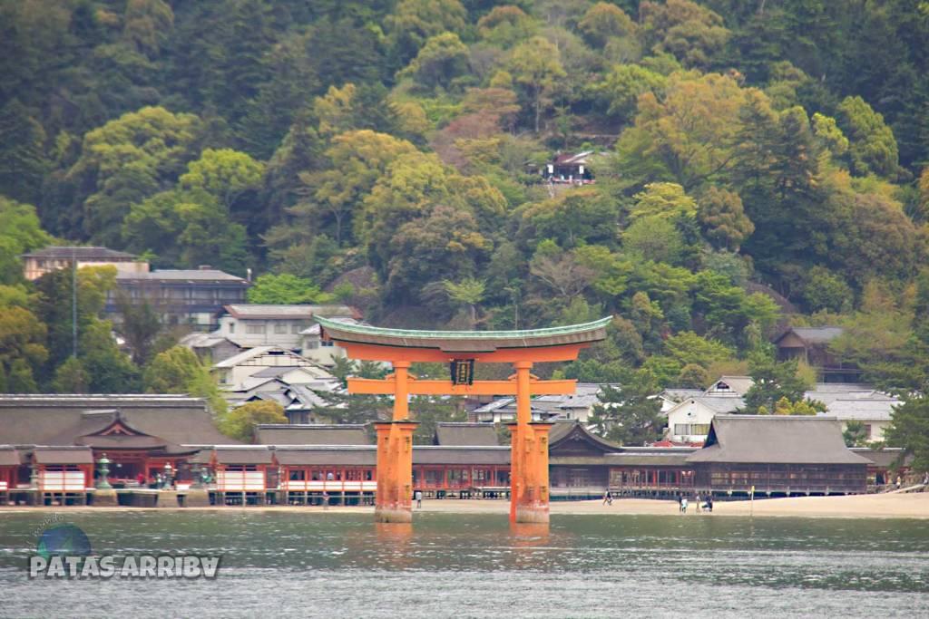 La isla de Miyajima y su gran torii