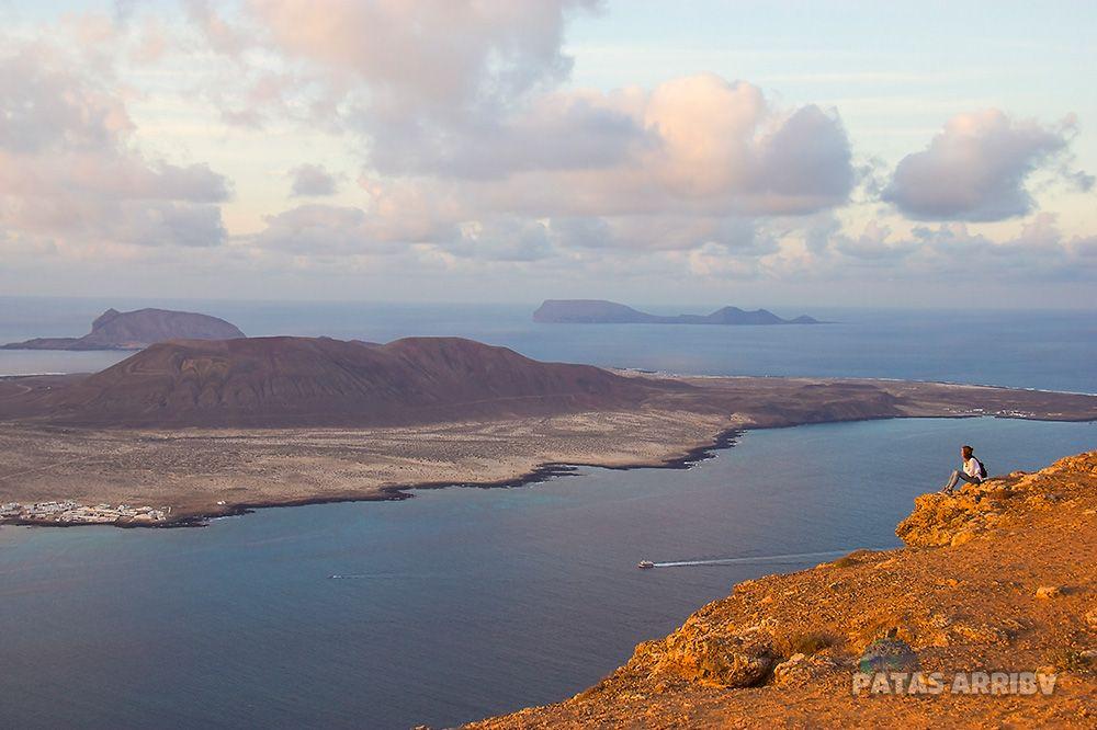 Vistas Mirado El Río Lanzarote La Graciosa