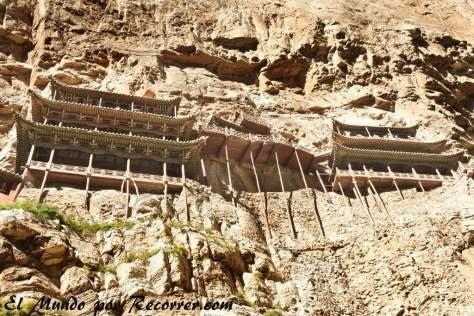 Monasterio Colgante cerca de Datong