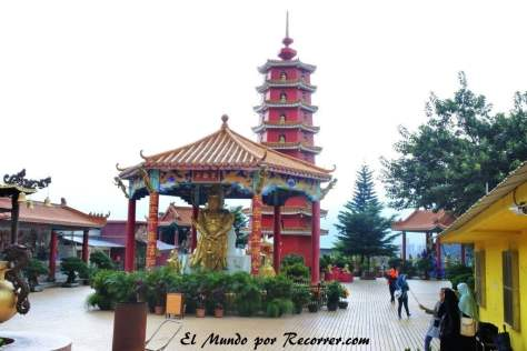 Cima del templo