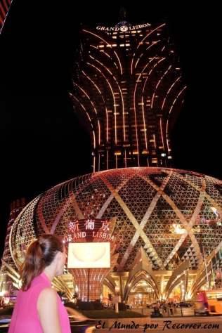 Casino más antiguo de Macau: El Grand Lisboa