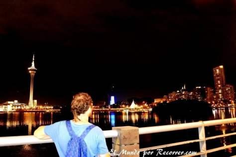 Skyline nocturno