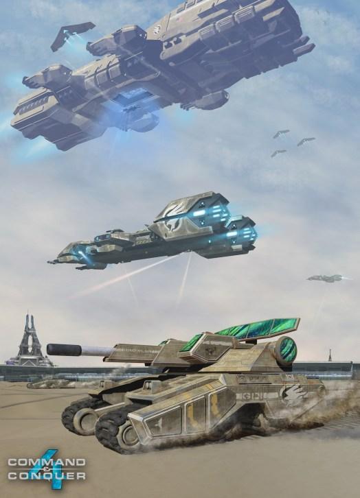 Command & Conquer 4 - Announcement Concept Art 1